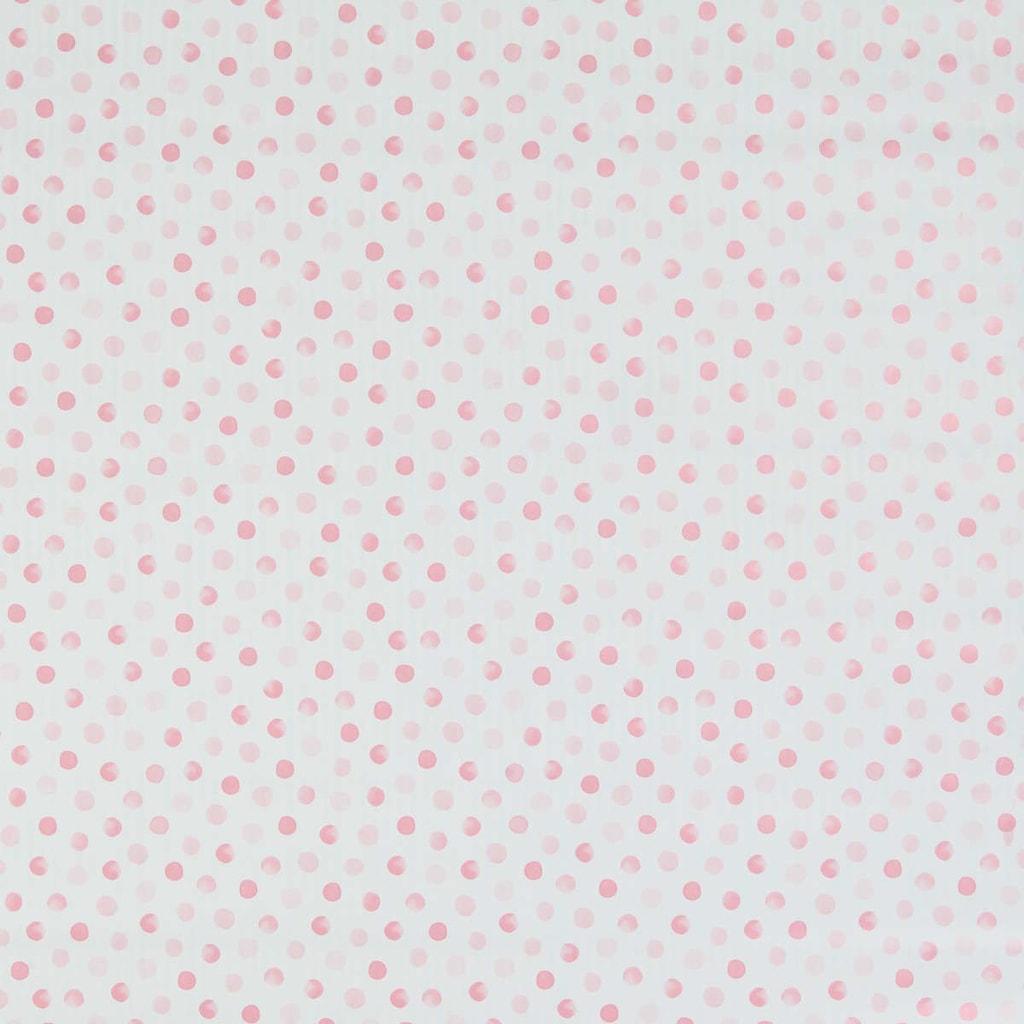 SURPRISE Dárkový papír puntíky - sv. růžová