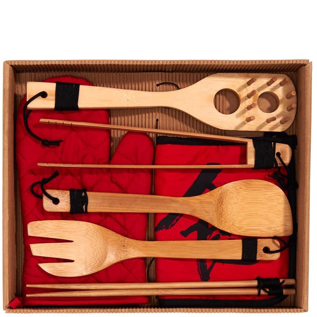 DRAGON Dárkový set bambusový 6-ti dílný