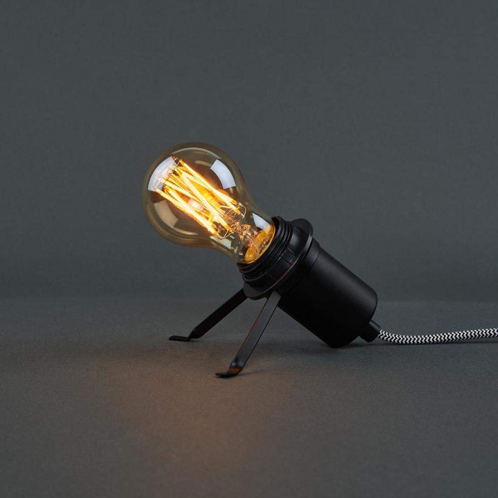 Fotografie BRIGHT LIGHT LED Dekorační žárovka A 60