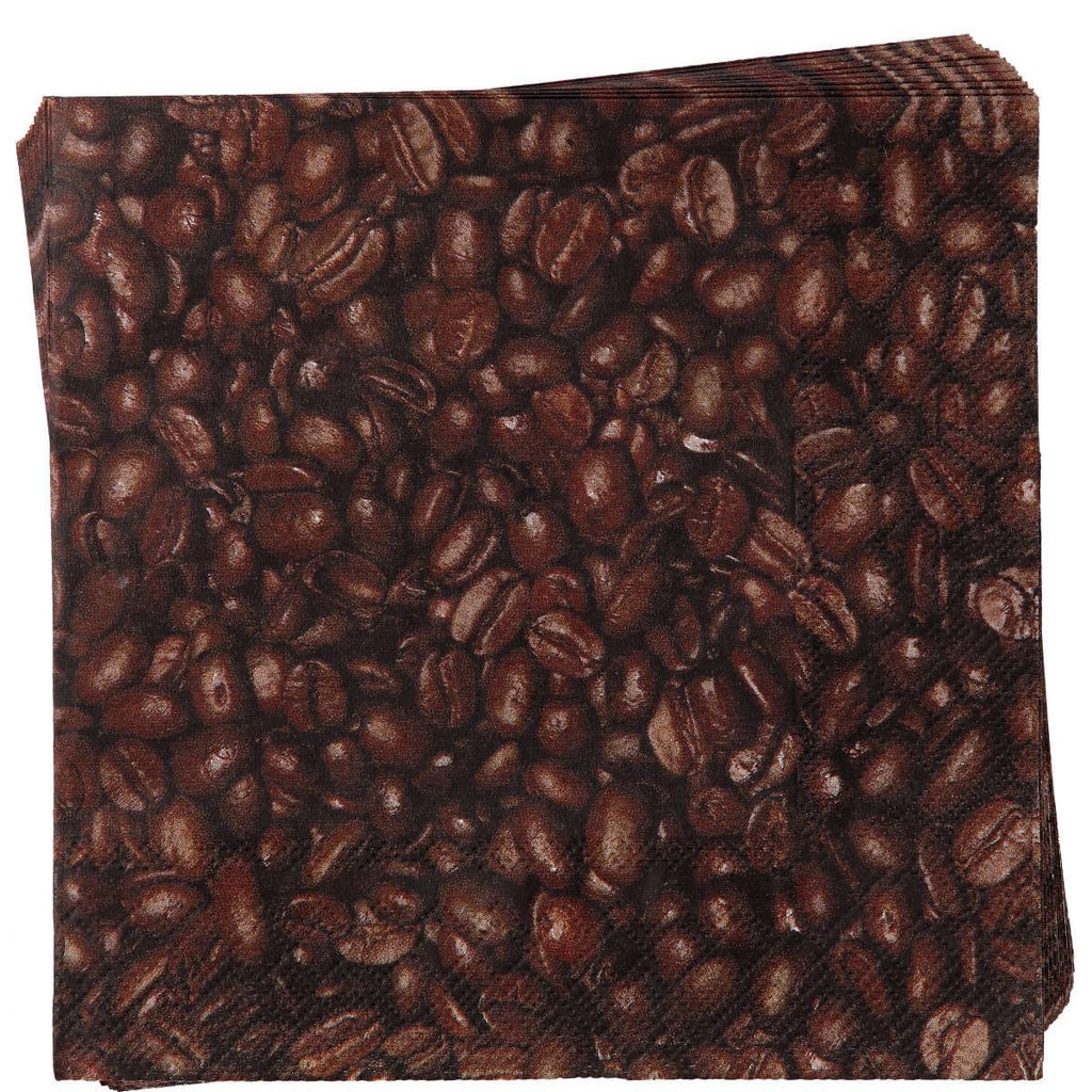 APRÉS Papírové ubrousky kávové zrnko