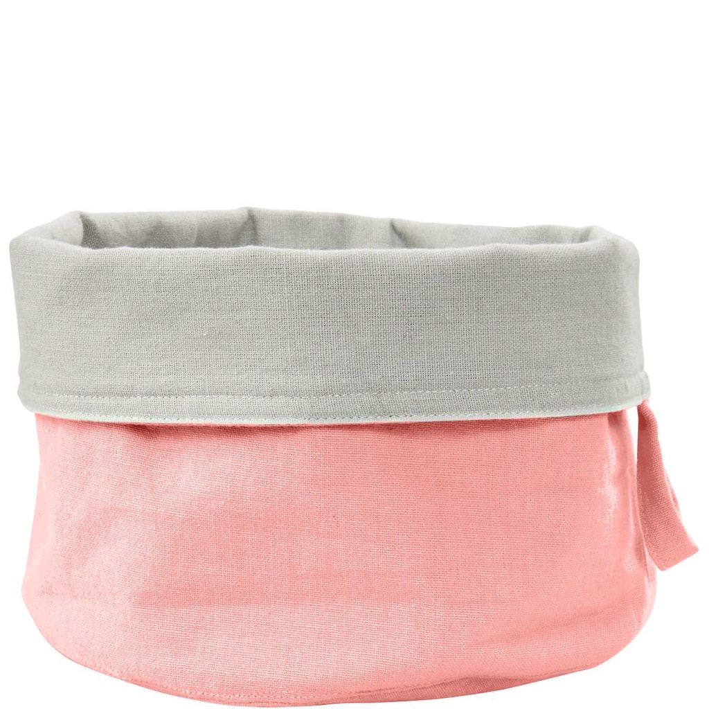 SPHERE Košík na pečivo textilní - růžová