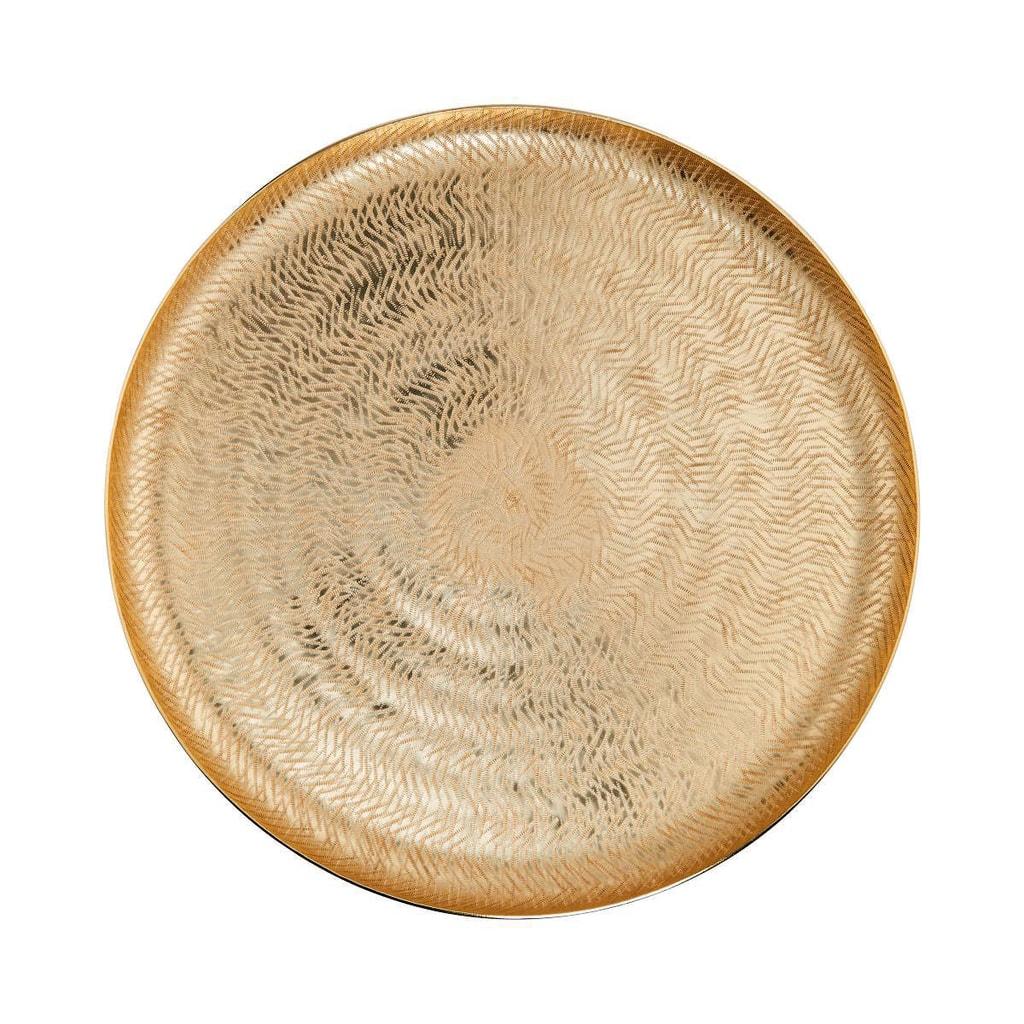 GOLDEN STAR Dekorační talíř 38 cm