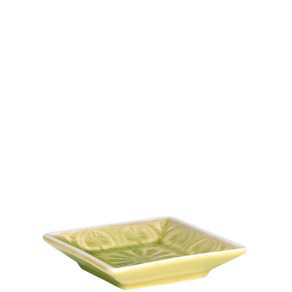 SUMATRA Mini miska hranatá - zelená
