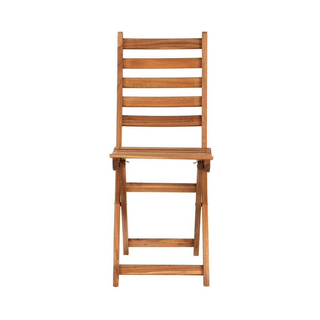 LODGE Skládací židle - přírodní