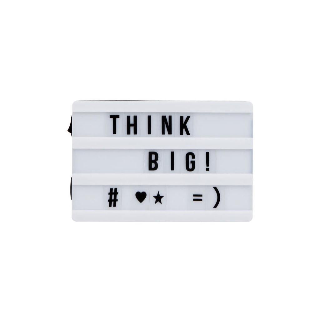 BLOCKBUSTER Světelný box XS s magnety