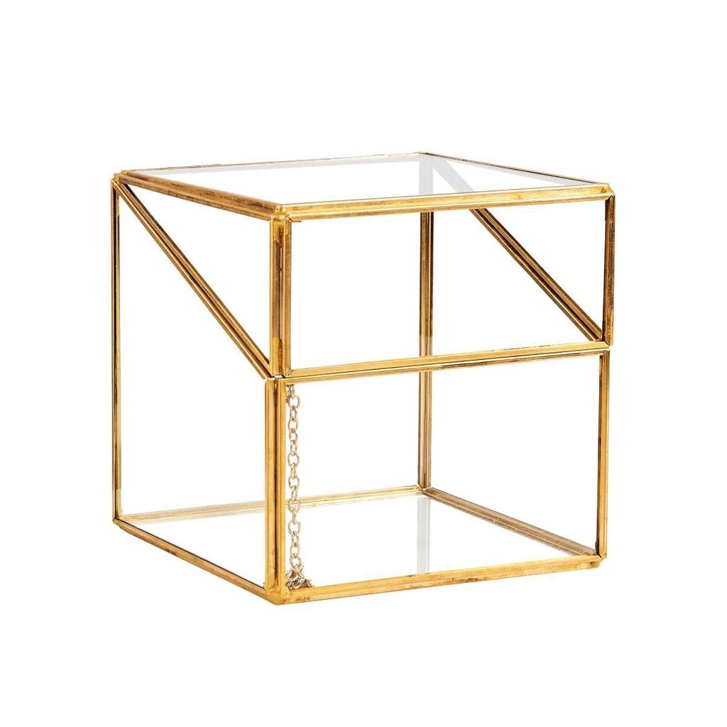 SHOWROOM Skleněný box otevírací 12,5 cm