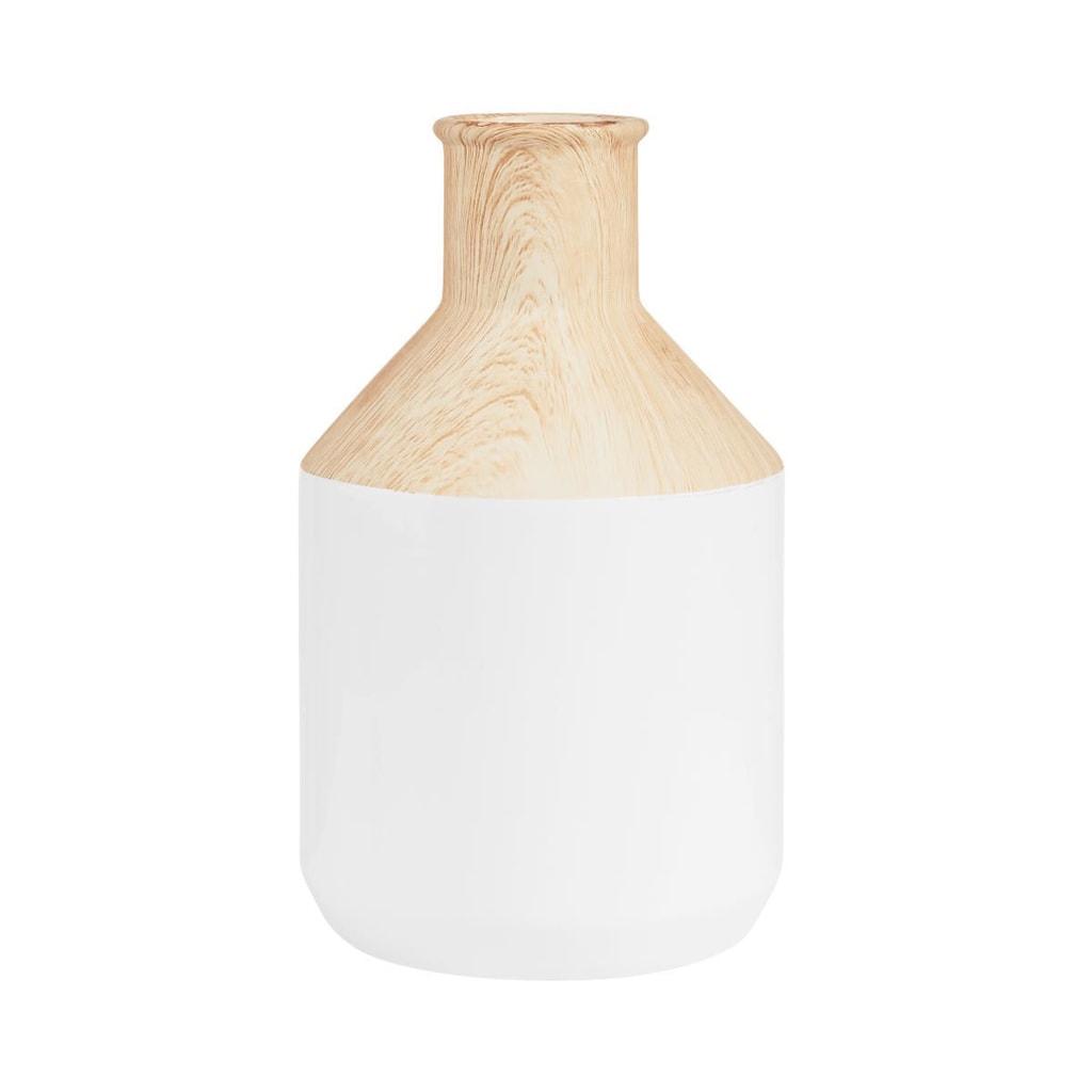 PASTELLO Karafa dřevěný vzhled - bílá