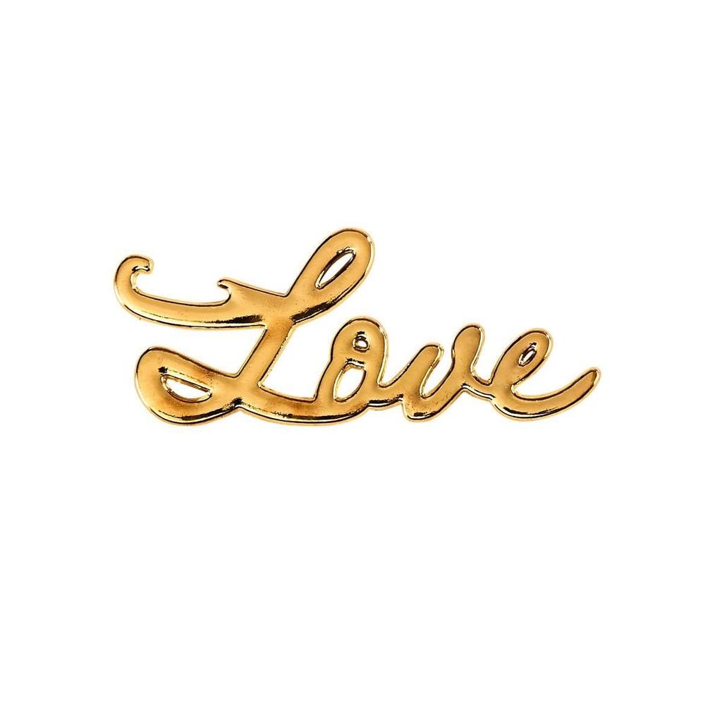 """GOLD DIGGER Otvírák na láhve """"Love"""""""