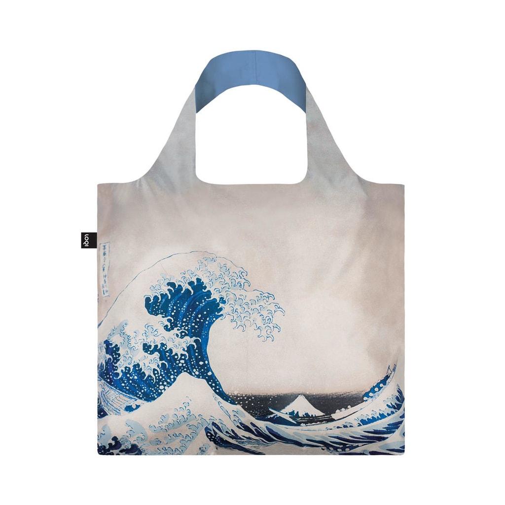 LOQI Nákupní taška velká vlna