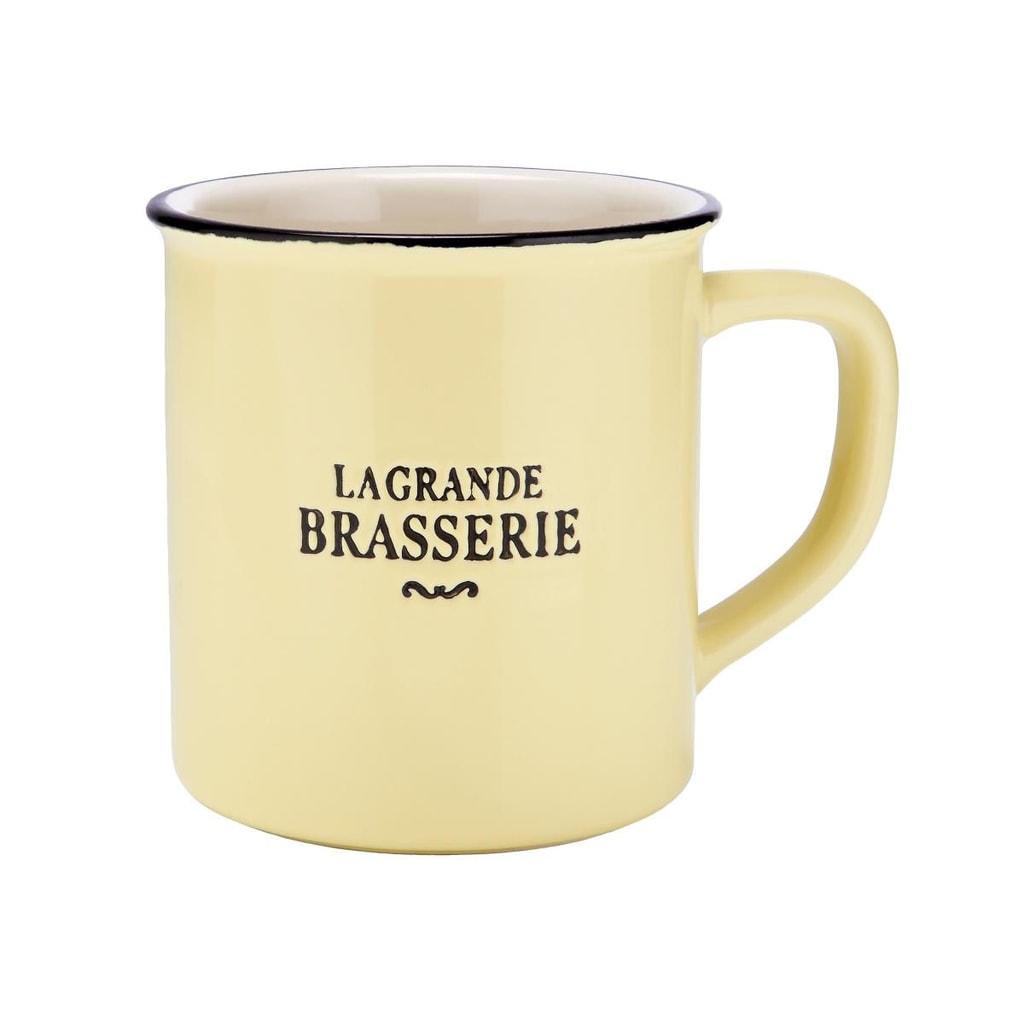 LA GRANDE BRASSERIE Šálek - žlutá