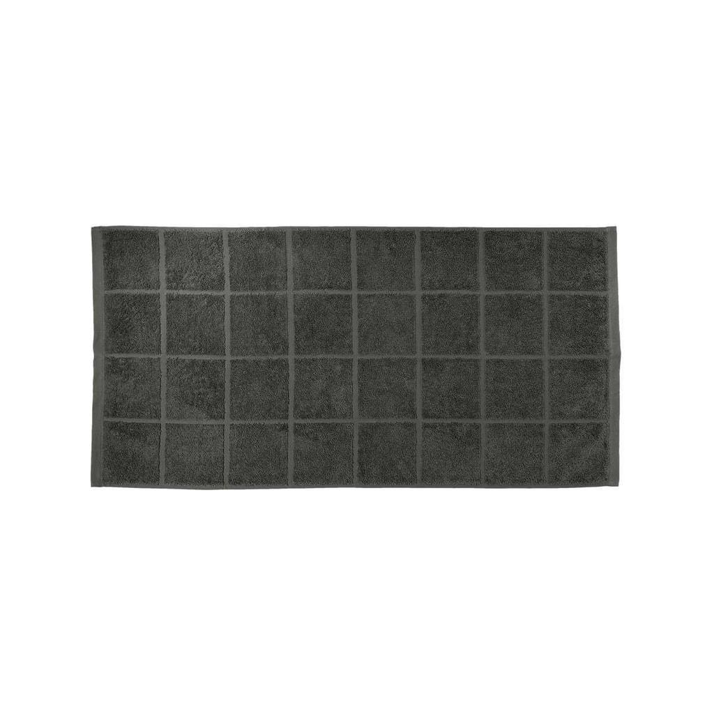 COTTON CLOUD Ručník 50 x 100 cm - antracitová