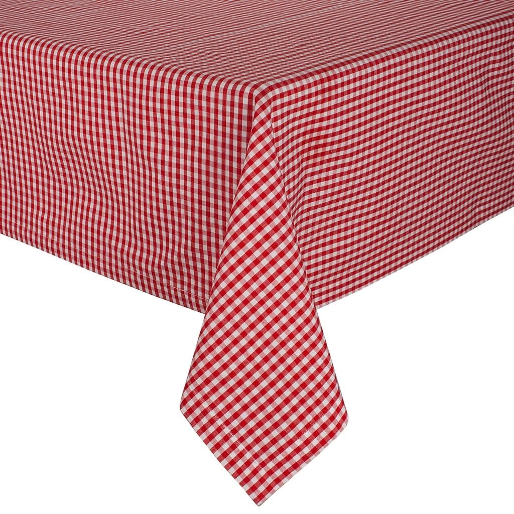 ADIEU TRISTESSE Ubrus 140 x 180 cm - červená