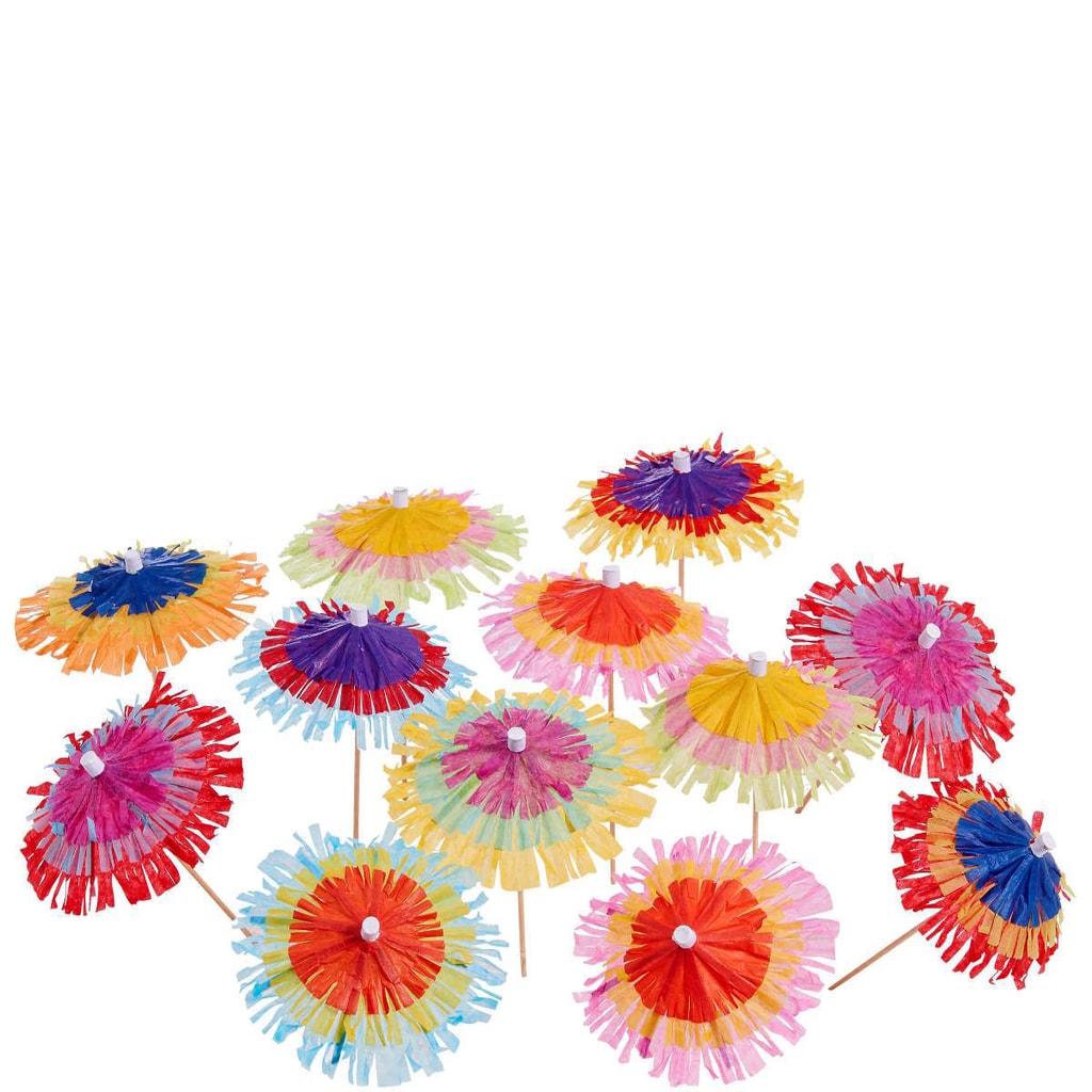 MIRABELLA Kotejlové děštníčky set 12 ks