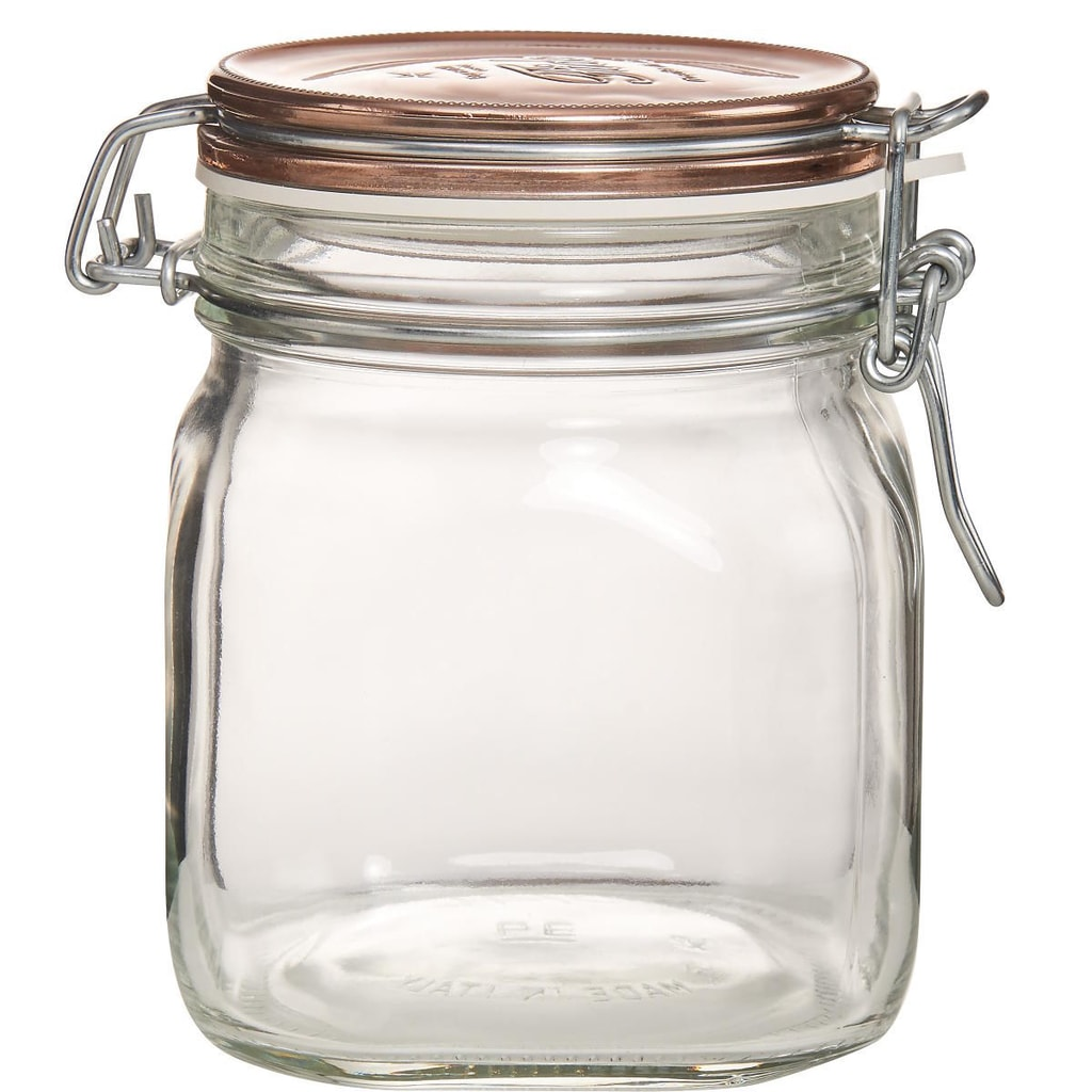 FIDO Zavařovací sklenice - měděná