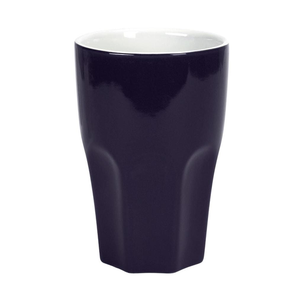 MIX IT! Hrnek Café Latte - modrá