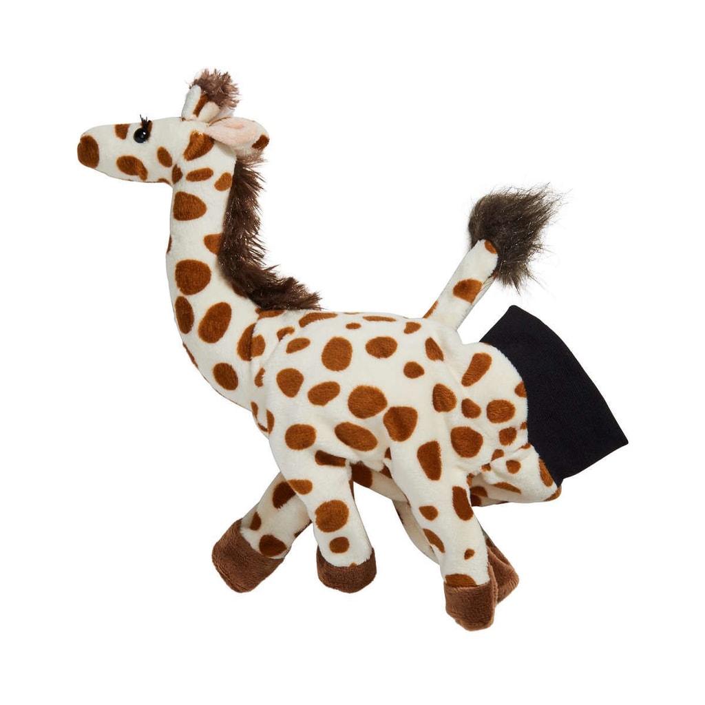WILD GUYS Maňásek žirafa