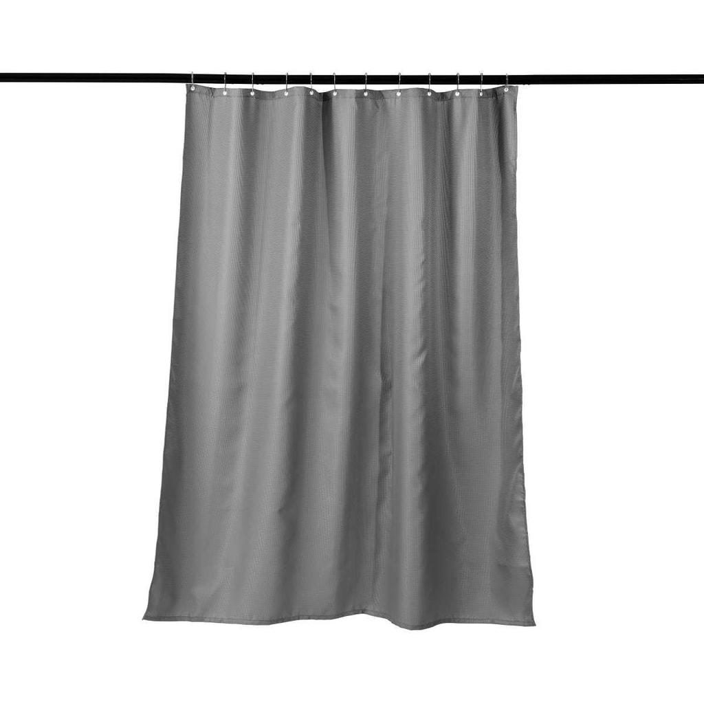 WET WET WET Sprchový závěs waflový vzor - šedá