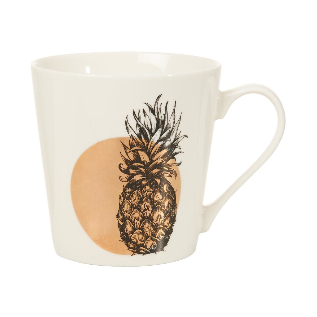COFFEE DELUXE Hrnek ananas 350 ml