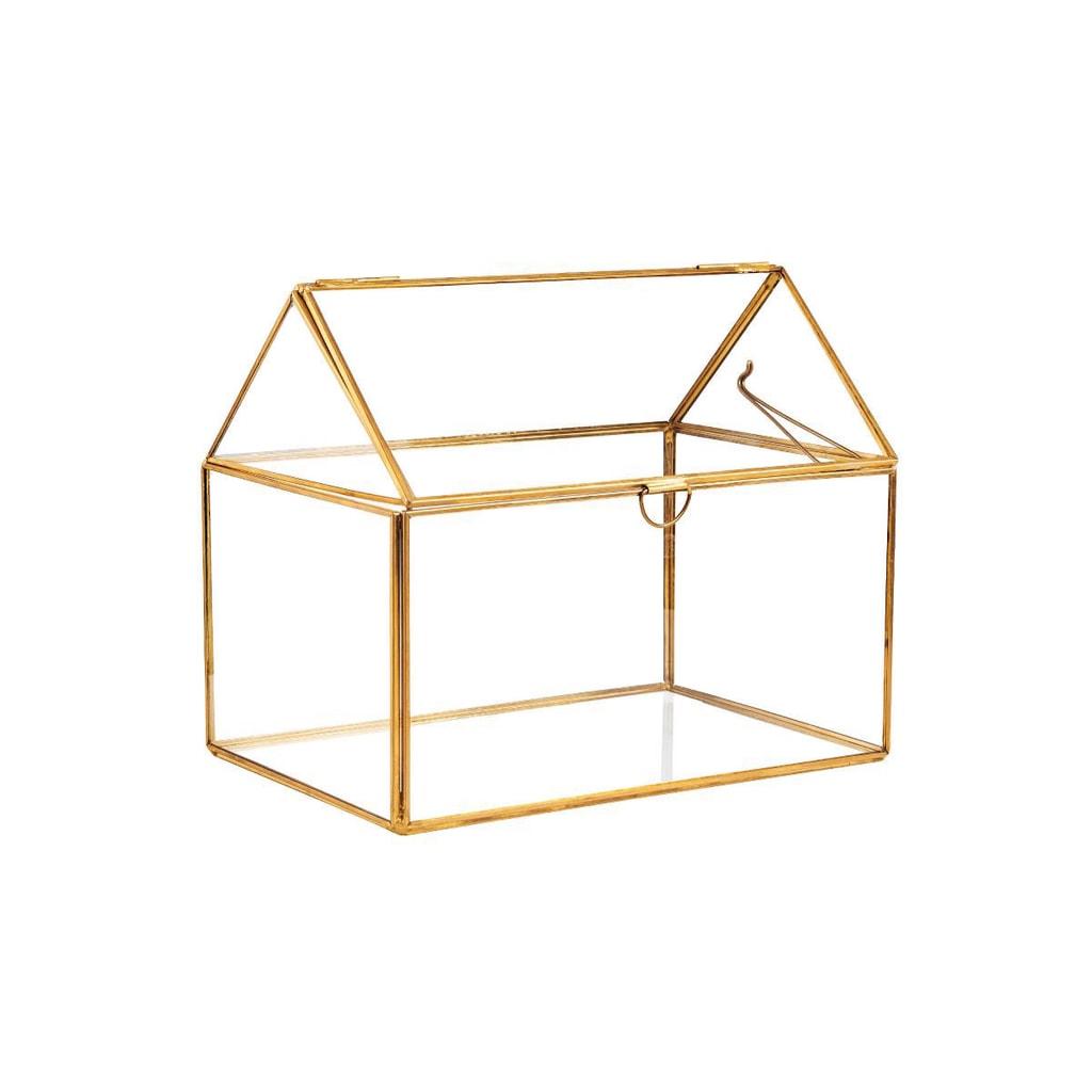 SHOWROOM Skleněný box otevírací 19 cm