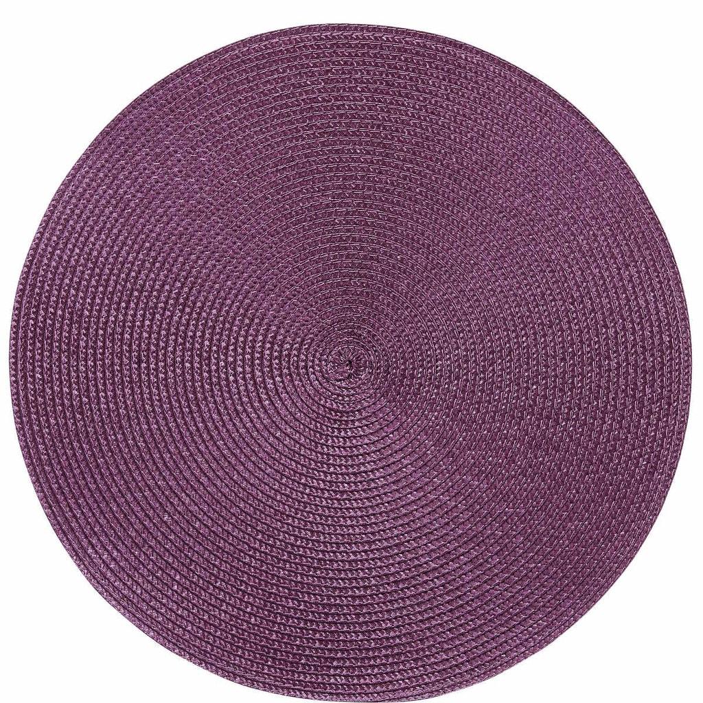 AMBIENTE Prostírání kulaté - fialová