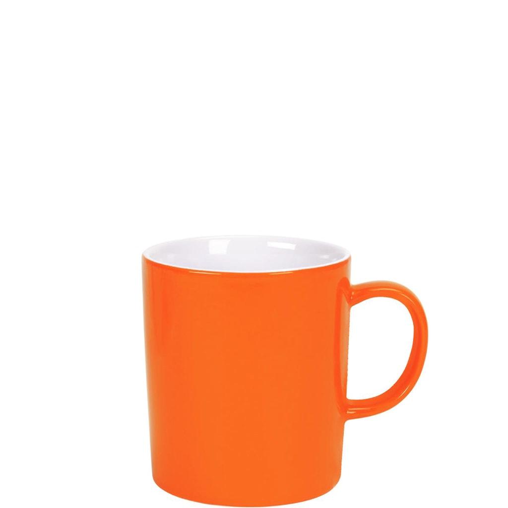 MIX IT! Hrnek na kávu 250 ml - oranžová