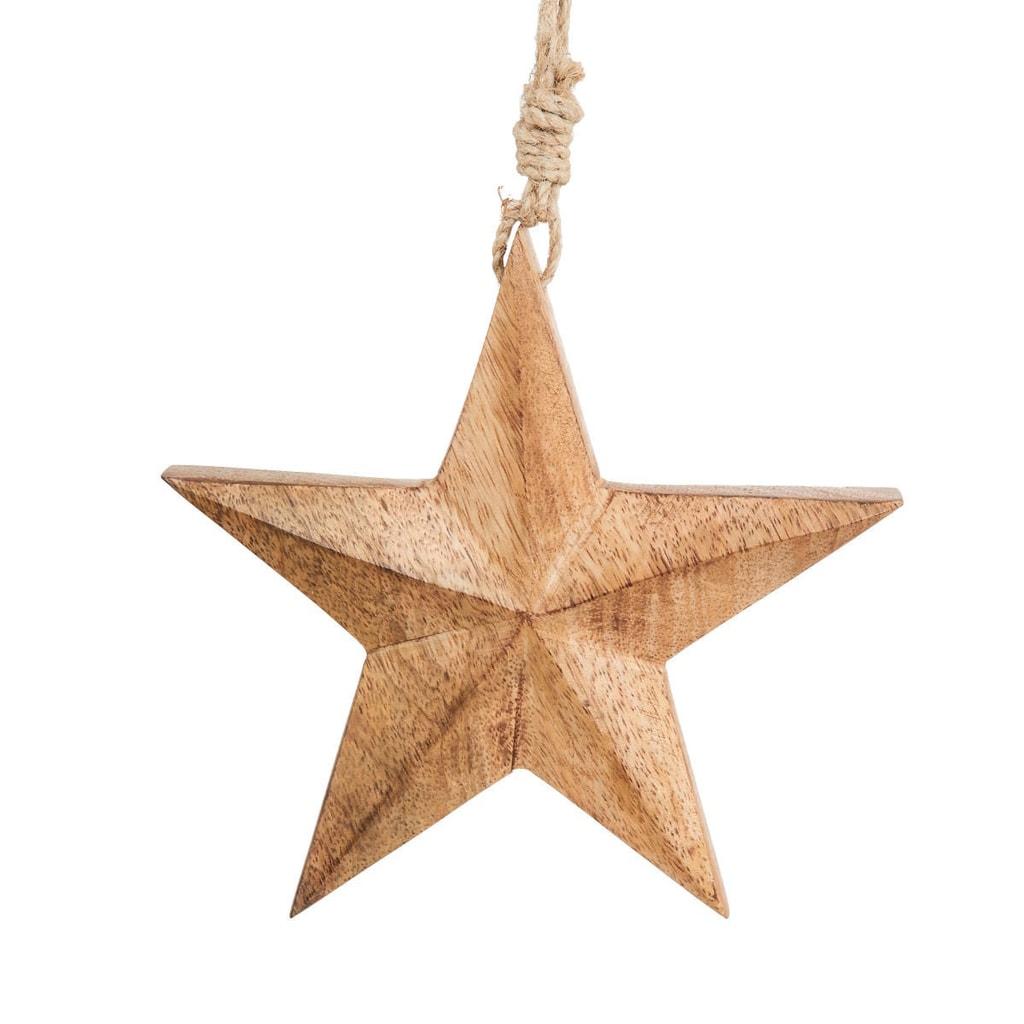 HANG ON Ozdoba hvězda střední