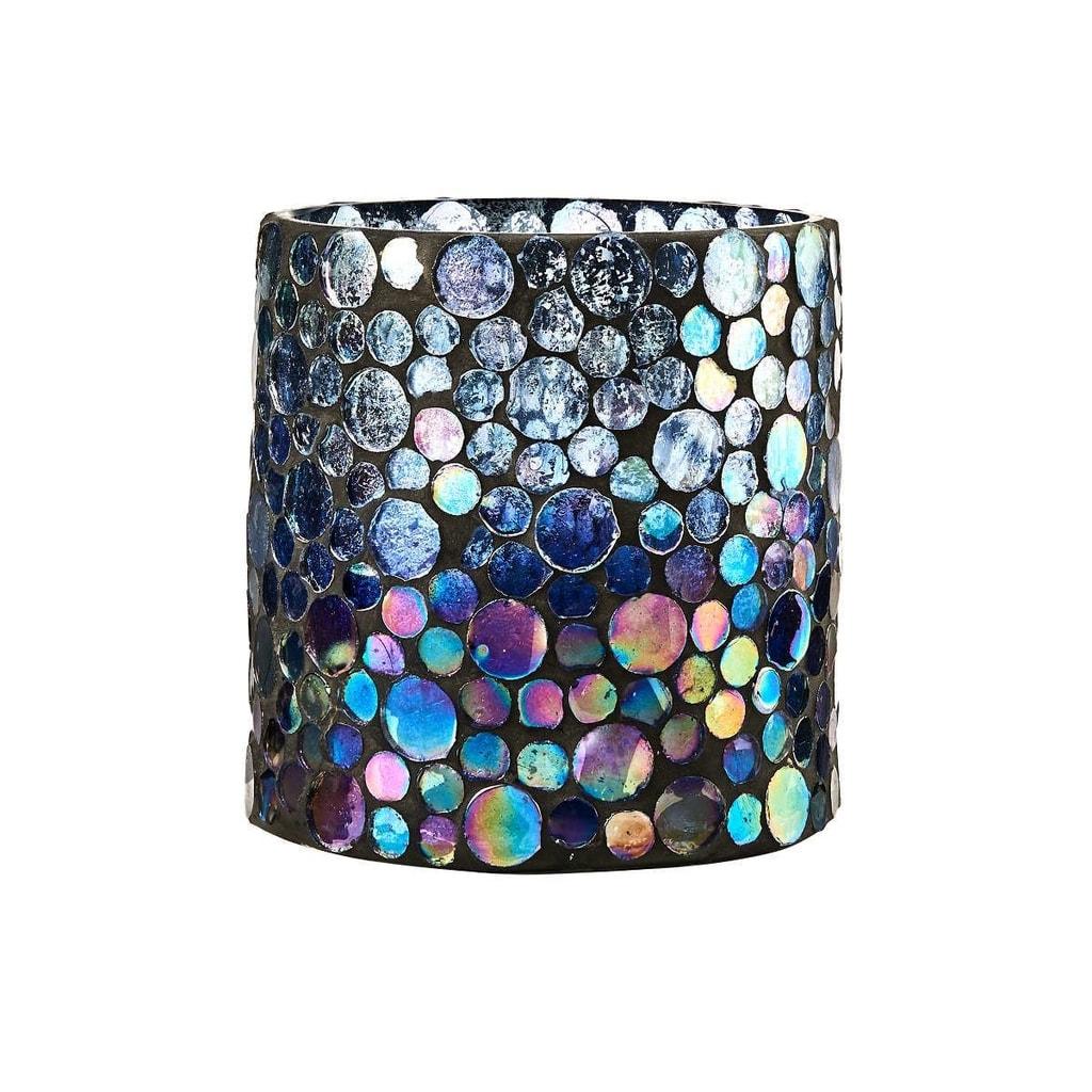 ARIELLE Svícen na čajovou svíčku mozaika 10 cm