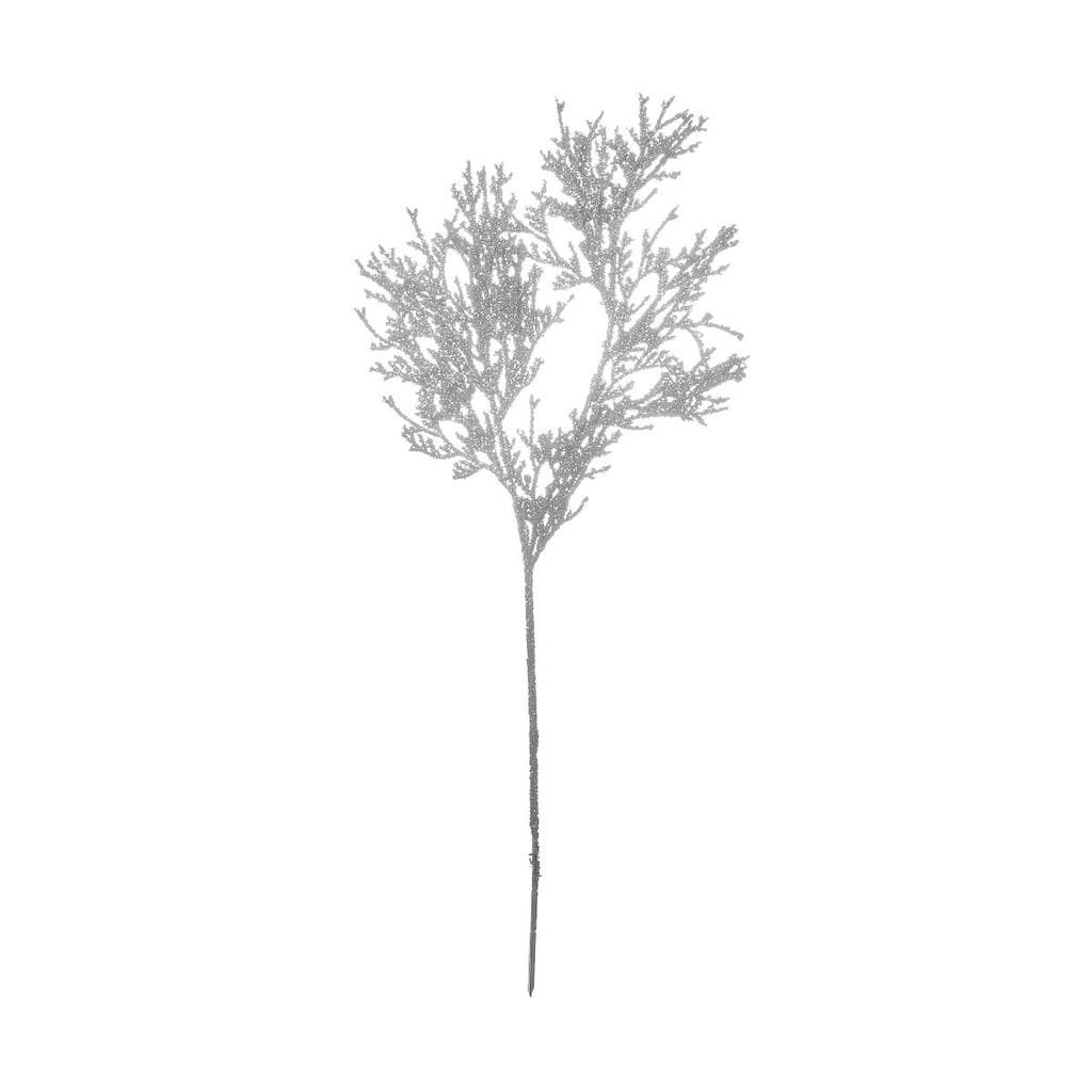 WINTERGREEN Větvička cedr se třpytkami 91 cm