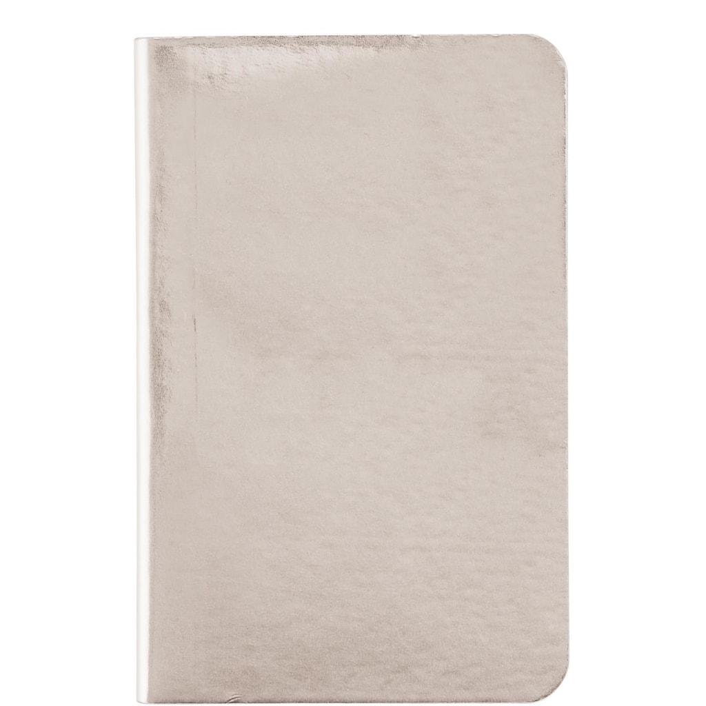 JOURNAL Zápisník A5 - stříbrná