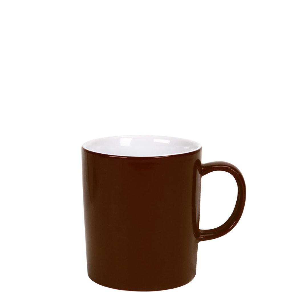 MIX IT! Hrnek na kávu 250 ml - hnědá