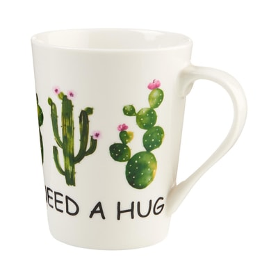 "DESERT PLANT Hrnek ""Need a hug"" 455 ml"