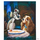 DISNEY Plátno Lady & Tramp